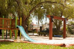 Slide and swing